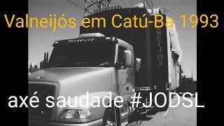Trio & Banda Valneijós em Catu-BA (1993) #JODSL 💯% FULL HD! Raridade ✔️