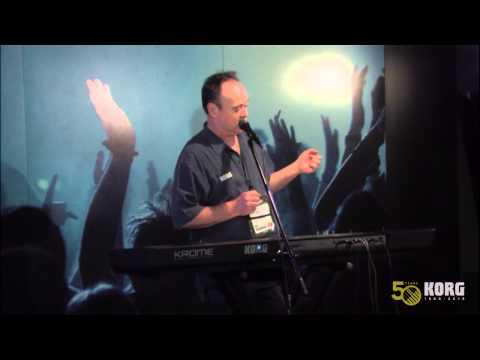 Jack Hotop Korg Krome Demonstration at the 2013 Winter NAMM Show