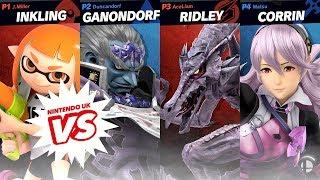 Super Smash Bros. Ultimate - Team Battle from EGX 2018