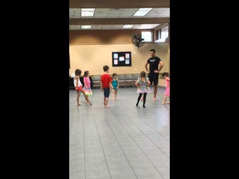 Ballet class 5.19.14