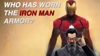 Who has worn the Iron Man armor?