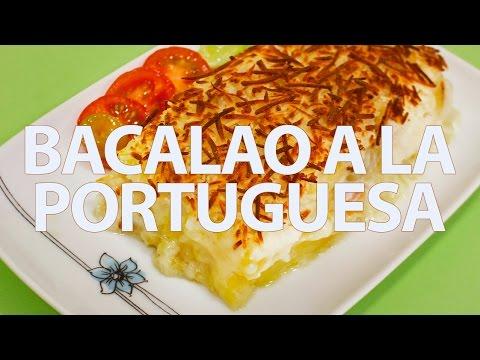 Con ganas de cocinar bacalao a la portuguesa youtube for Cocinar cocochas de bacalao