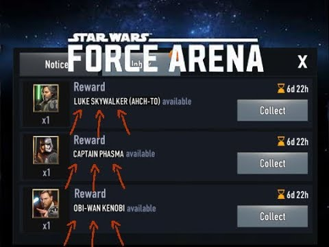 Easiest Way to Get Legendary Cards in Star Wars: Force Arena