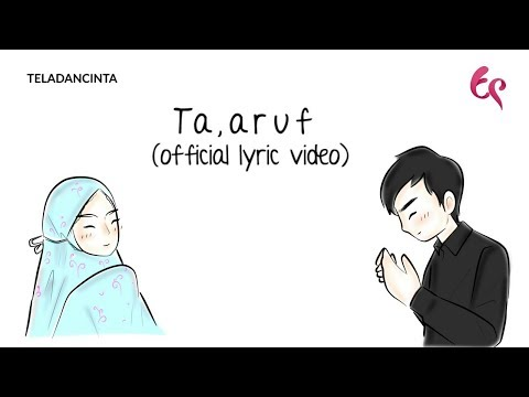 Anandito Dwis - Ta'aruf | Animation Version (Official Lyric Video) | #Singlelillah Part 3