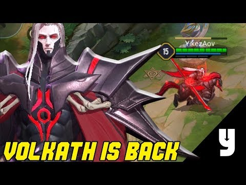 NEW HERO: VOLKATH | THE DARKNESS HAS RETURNED | Arena Of Valor | LiênQuânMobile | 傳說對決 | 펜타스톰 | 伝説対決