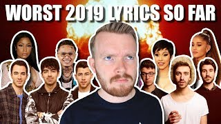 The Top 13 Worst Lyrics of 2019 (so far...)