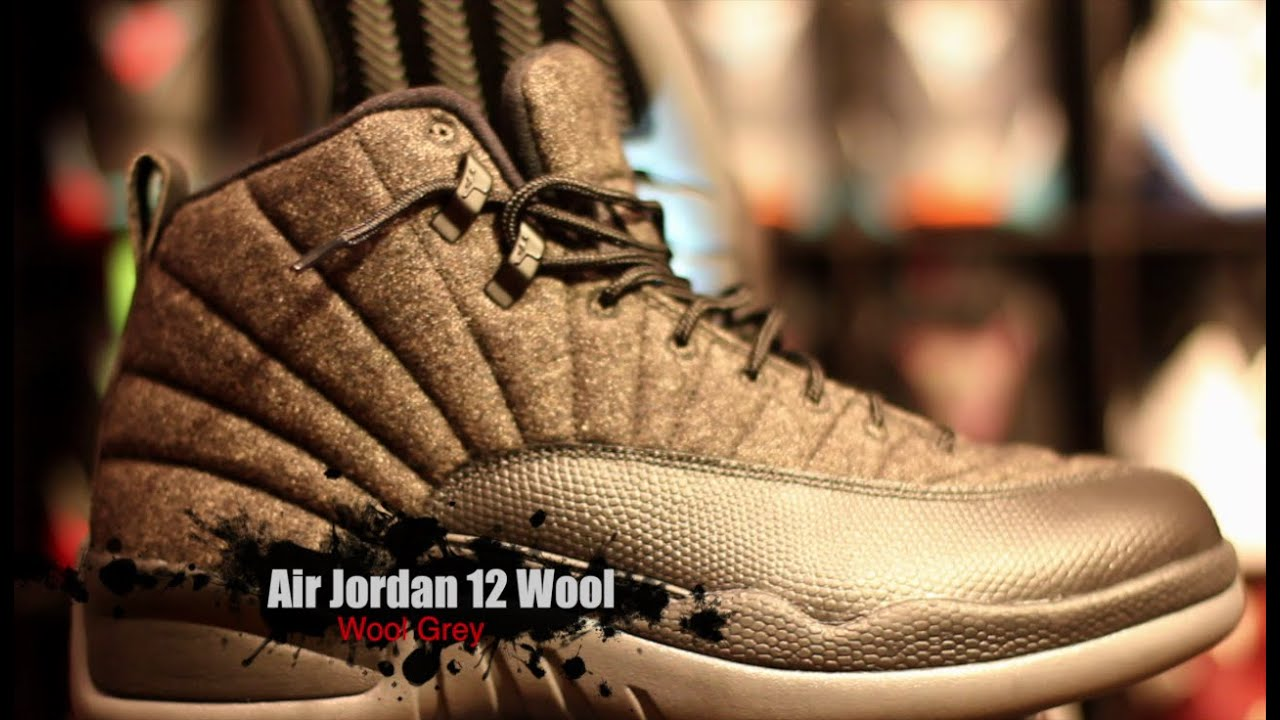 6b173ef57e63 Air Jordan 12 Wool Complete Authentic Unboxing Review + On Foot ...