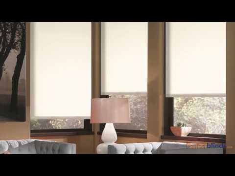 Value Plus Fabric Roller Shades from Selectblinds.ca