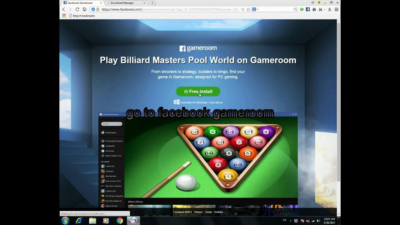 download facebook gameroom for windows 10