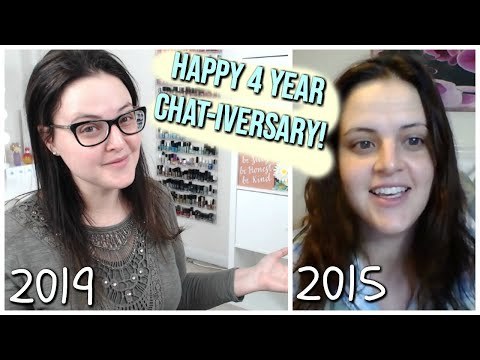 LIVE CHAT: 4 Year Chat-iversary Makeup Trivia Game! - 동영상