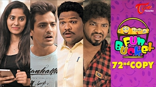 Fun Bucket | 72nd Copy | Funny s | by Harsha Annavarapu | #TeluguComedyWebSeries