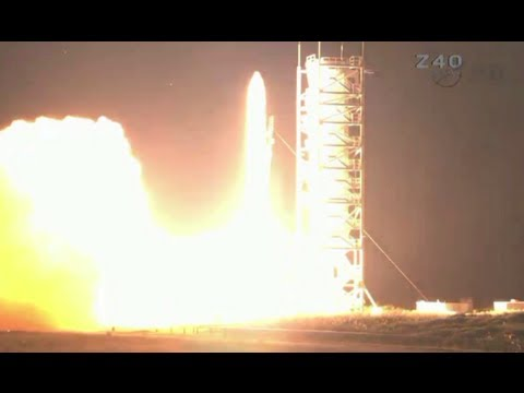 Rocket launched: Robotic explorer sent into space for Moon mission
