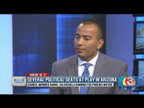 Daniel Valenzuela announces his bid for Phoenix mayor