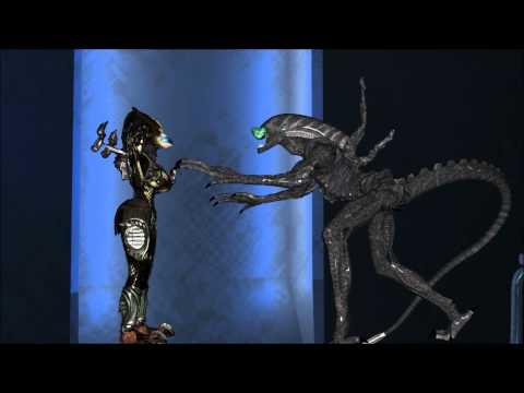 Alien v Predator The kiss.wmv