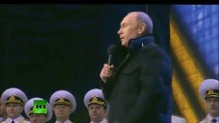 Ukraine got talent 2014 Vladimir Putin's performance