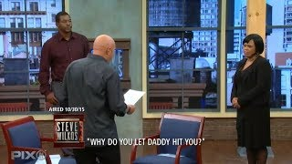 Steve Asks A Mother To Make A Choice! (The Steve Wilkos Show)