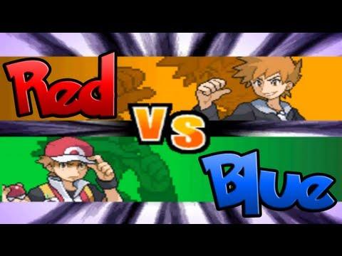 Pokemon Black and White Hack: Red vs Champion Blue!