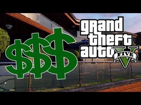 GTA5 Grand Theft Auto V: VEEL GELD dmv AANDELEN!