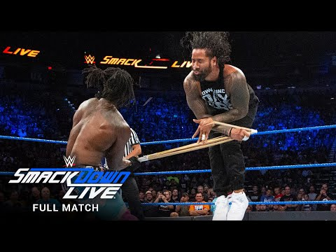 FULL MATCH: Usos vs New Day - SmackDown Tag Team Titles Street Fight: SmackDown LIVE, Sep. 12, 2017
