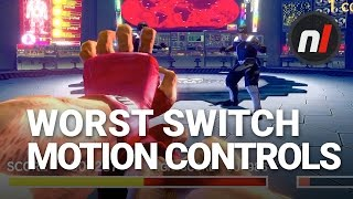 The Worst Motion Controls on Nintendo Switch | Way of the Hado in Ultra Street Fighter II