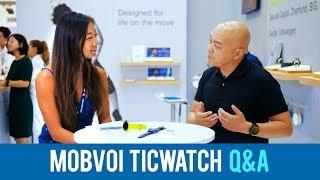 Hi-Talk: Meet award-winning design Mobvoi TicWatch S & E
