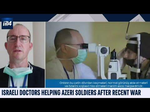 Israeli Doctors Help Azeri Soldiers After Nagorno-Karabakh War