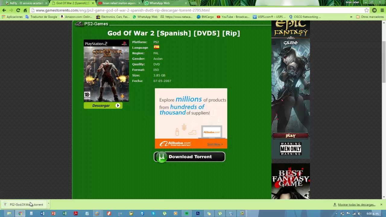 torrent god of war 3 pc indir