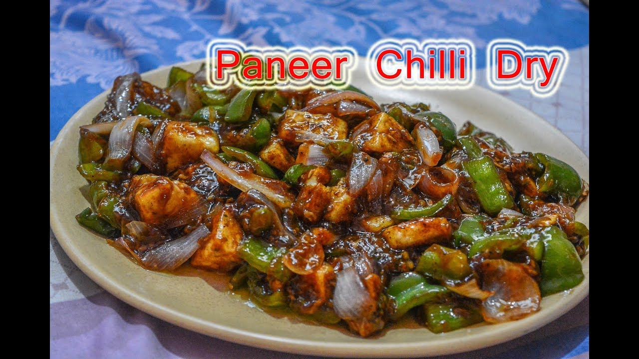 Paneer Chilli Dry Recipe Maharashtrian Recipes Marathi Recipes