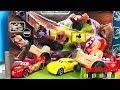 Carros de Carrera para niños  Pista de Coches CARS 3 Smokey's tractor challenge playset