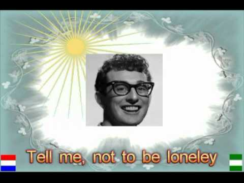 Buddy Holly - RAVE ON.+ Lyrics