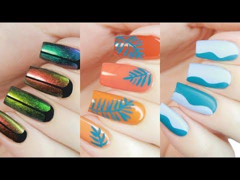 3 Easy Summer Designs Using PEEL OFF WATER-BASED NAIL POLISH!   Little Ondine