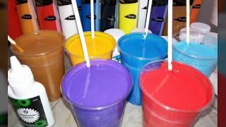 Замес краски с клеем ПВА для картин технике АКРИЛОВАЯ ЗАЛИВКА.Урок начинающим.AcrylicFluidPouring.