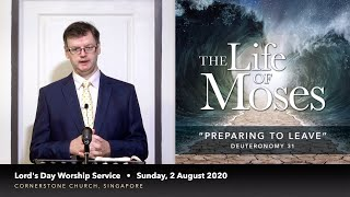 "20.08.02 – ""preparing To Leave"" – The Life Of Moses"
