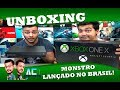UNBOXING E REVIEW - XBOX ONE X PROJECT SCORPIO!