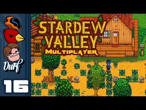 Let's Play Stardew Valley Multiplayer [v1.3 Beta] - Part 16 - 10,000 G Down The Drain