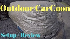 Outdoor CarCoon Car Storage System Setup and Review
