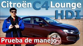 Prueba Citroën C4 Lounge HDi | Autocosmos