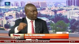 Killings: Nigeria's Security Problem Is Structure, Not Funding - Ike Ekweremadu Pt.2 |Sunrise Daily|