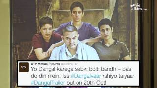 Aamir Khan Annouces Dangal Trailer Will Be Out On 20th Oct 2016