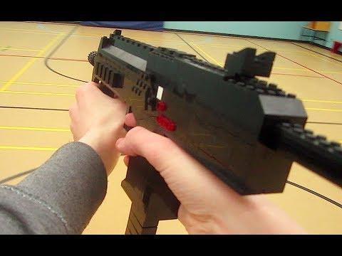 Aliexpress.com : Buy BOY Toys MP7 Rifle Submachine Gun Building ...