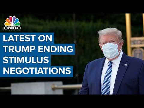 President Donald Trump ending Covid-19 stimulus negotiations left many baffled—Here's what happened
