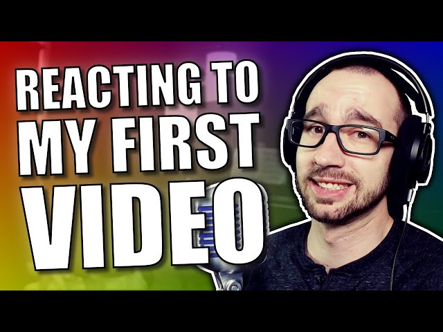 I REACT To My First VIDEO! #Cringefest