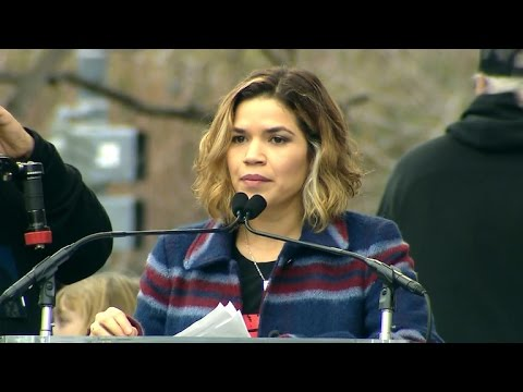 America Ferrera speaks at Women