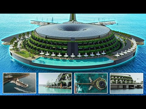 Qatar Eco Floating And Spinning Hotel