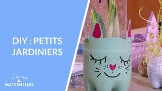 DIY : petits jardiniers - La Maison des maternelles #LMDM