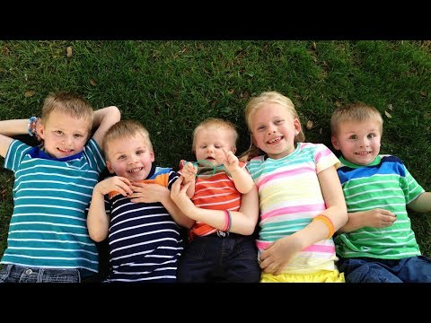 24 Hours With 5 Kids on a Sunny Day