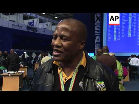 Reactions from ANC and EFF as election tally shows lead for ruling party