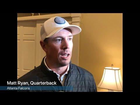 WATCH: Matt Ryan on the birth of Ryan twins
