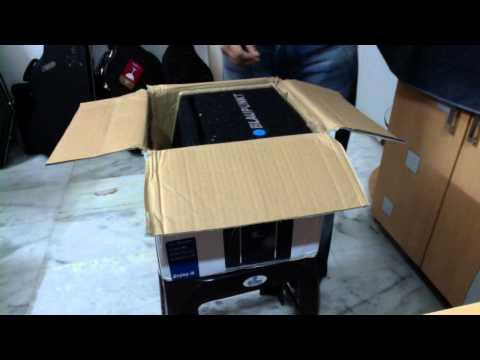 Unboxing - Blaupunkt - GTb 8200 A - 8 Inch Active Subwoofer