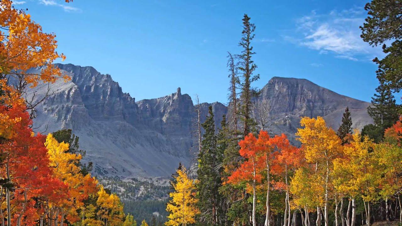 Fall Lake Wallpaper Great Basin National Park Youtube